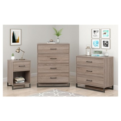 Attrayant Mixed Material 3 Drawer Dresser Medium Brown   Room Essentials™ : Target