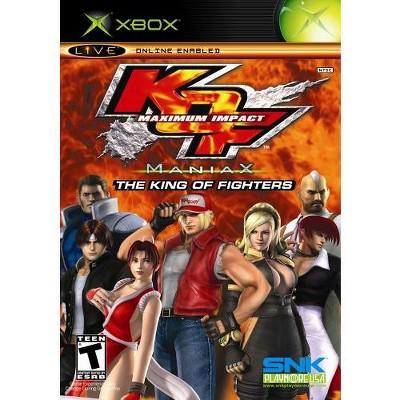 King of Fighters: Maximium Impact Maniax Xbox