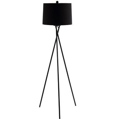 Parsen Floor Lamp - Black - Safavieh