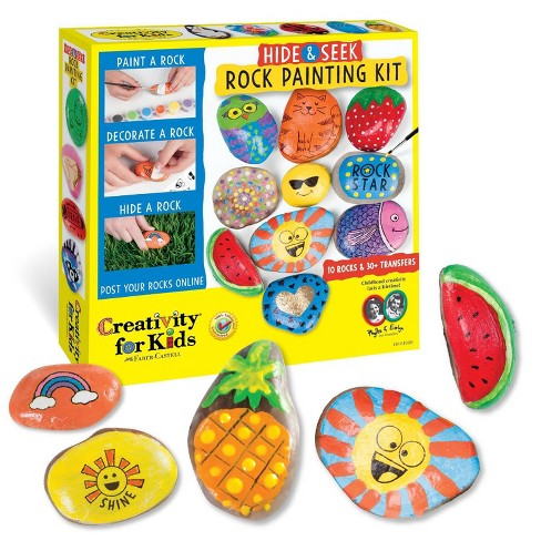 Hide & Seek Rock Painting Kit - Creativity for Kids - image 1 of 4