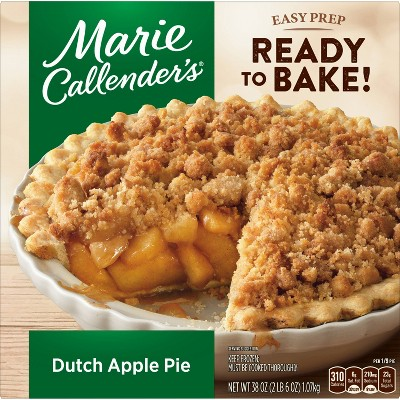 Marie Callender's Frozen Dutch Apple Pie - 38oz