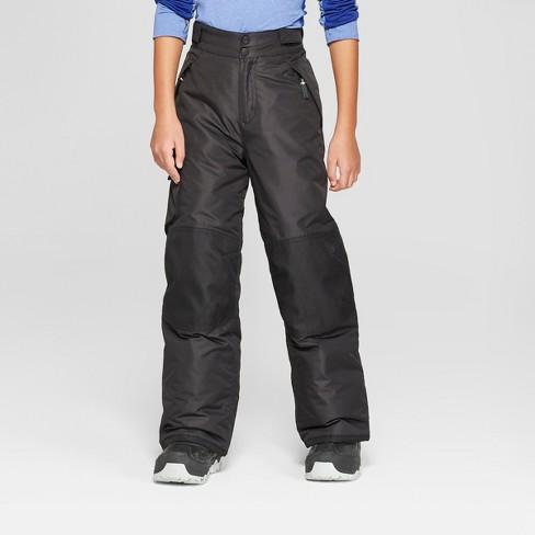93d235ce707d Boys  Solid Snow Pants - C9 Champion® Black S