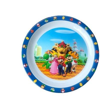 """Super Mario 8"""" Melamine Plate"""