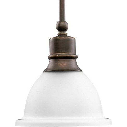 "Progress Lighting P5078 Madison Single Light 8"" Wide Mini Pendant - image 1 of 1"