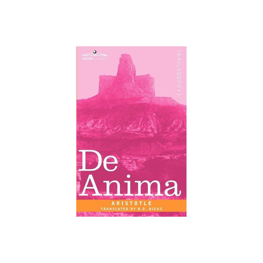 De Anima Paperback