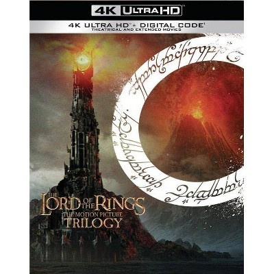 The Lord of the Rings: Motion Picture Trilogy (Extended & Theatrical)(4K/UHD)