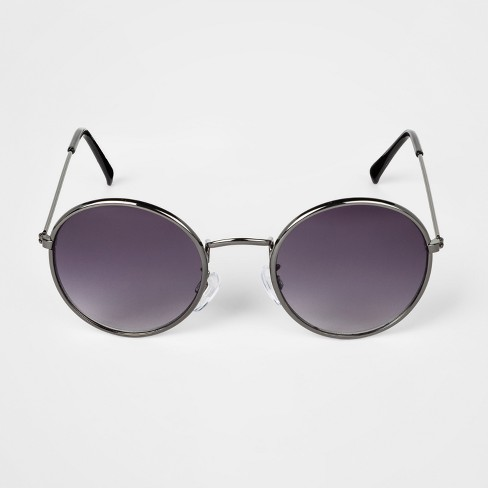 c05a4c7ae4 Kids  Round Sunglasses - Art Class™ Dark Silver   Target