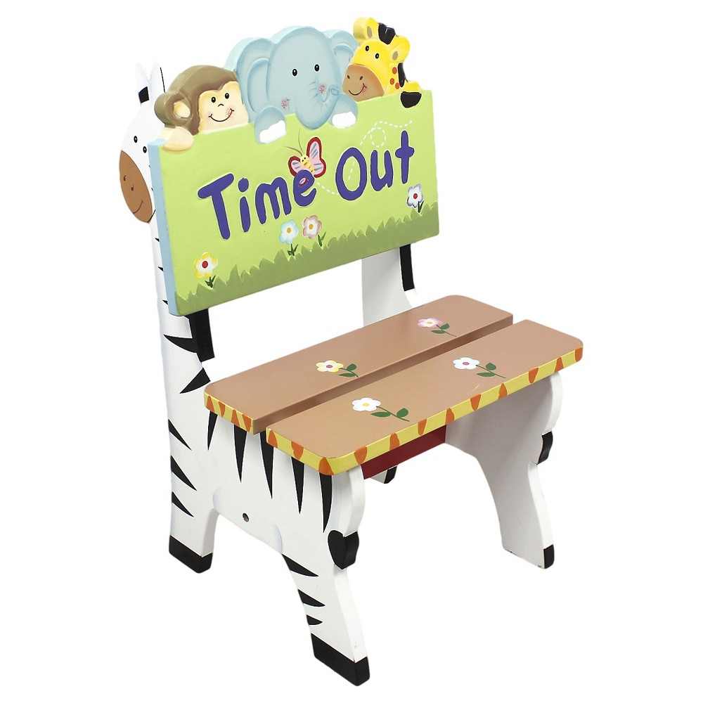Image of Fantasy Fields Sunny Safari Time Out Chair - Teamson