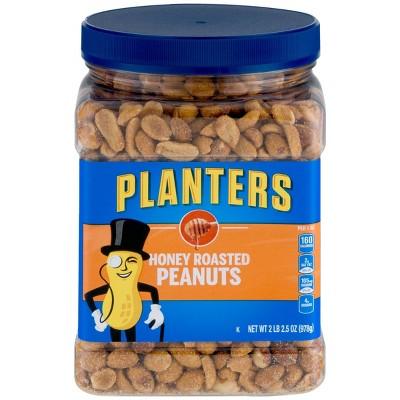 Planters Honey Roasted Peanuts - 2lb