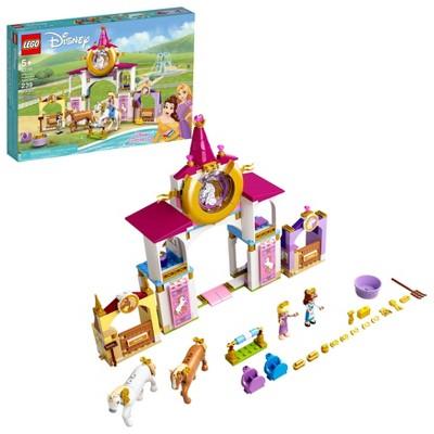 LEGO Disney Belle and Rapunzel's Royal Stables 43195 Building Kit