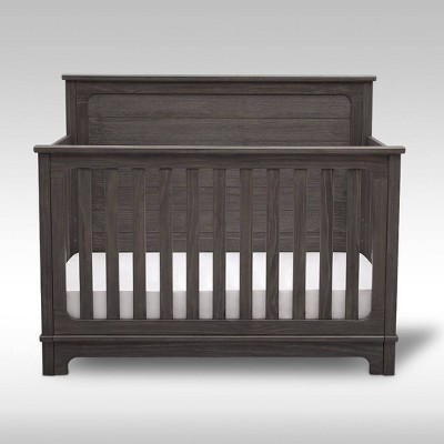 Simmons Kids' Slumbertime Monterey 4-in-1 Convertible Crib - Rustic Gray
