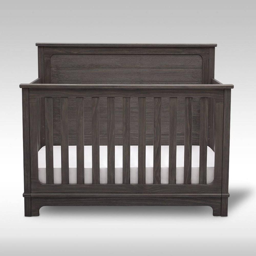 Simmons Kids 39 Slumbertime Monterey 4 In 1 Convertible Crib Rustic Gray