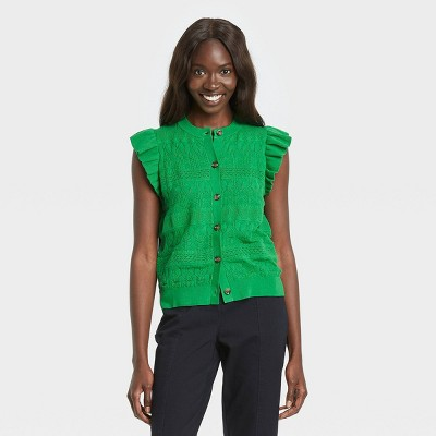 Women's Crewneck Sweater Vest - Who What Wear™