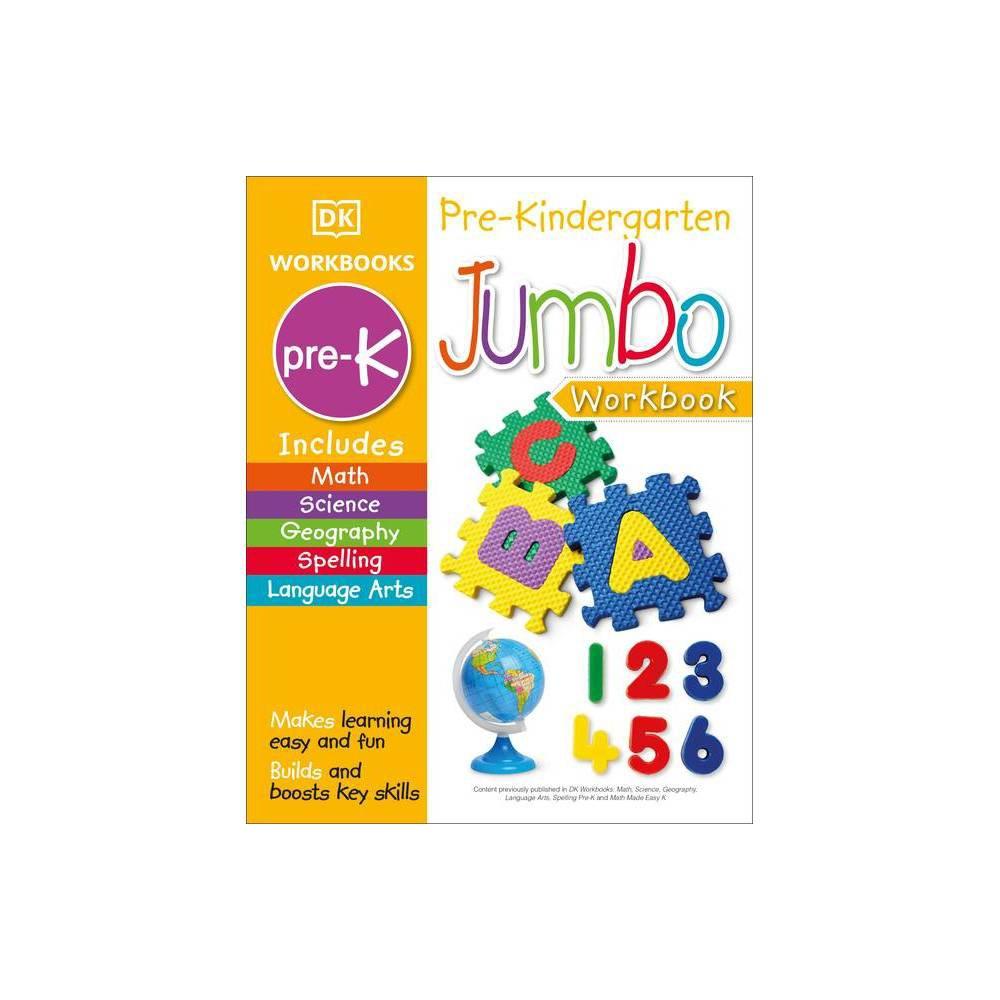 Jumbo Pre Kindergarten Workbook Paperback