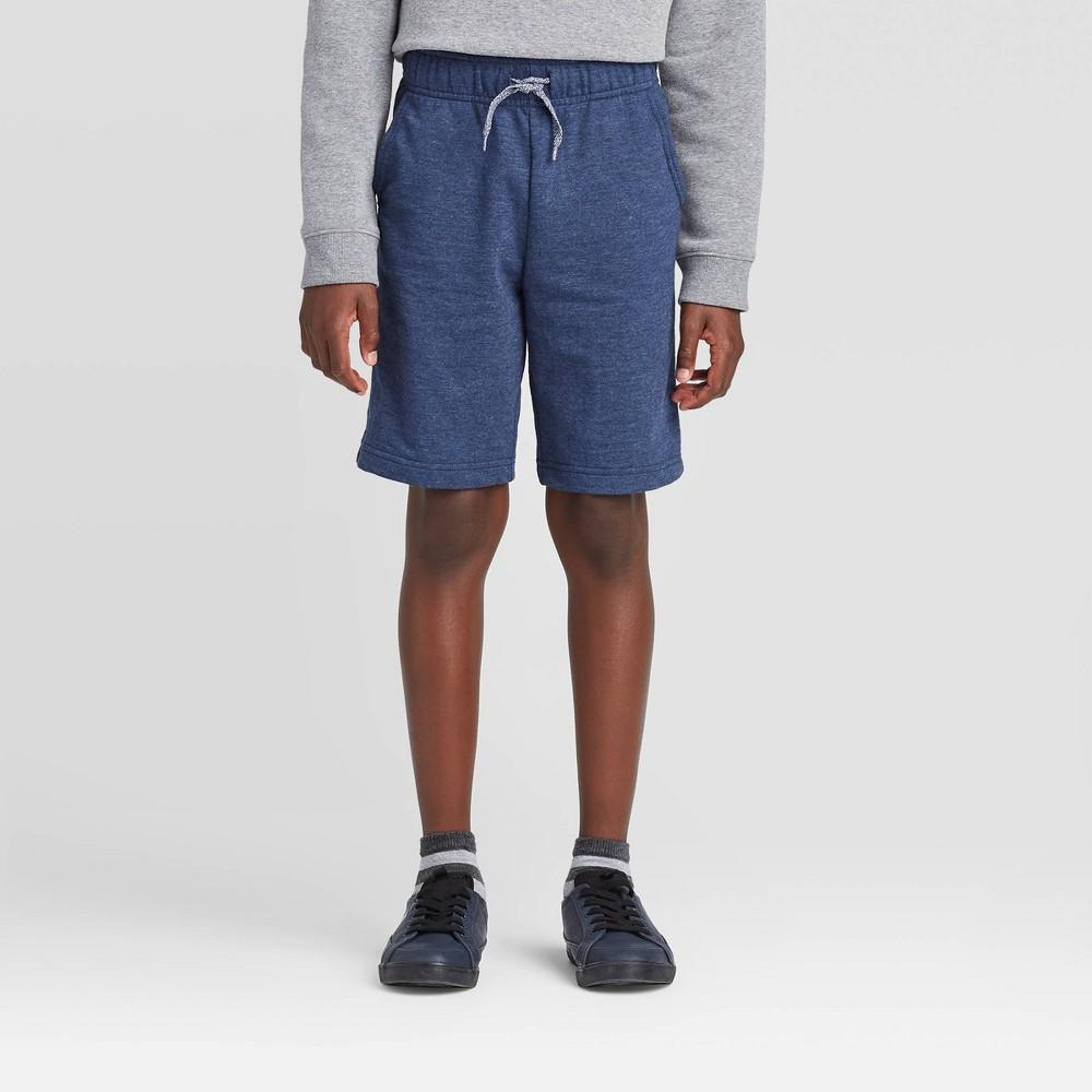 Boys 39 Pull On Knit Shorts Cat 38 Jack 8482 Navy M