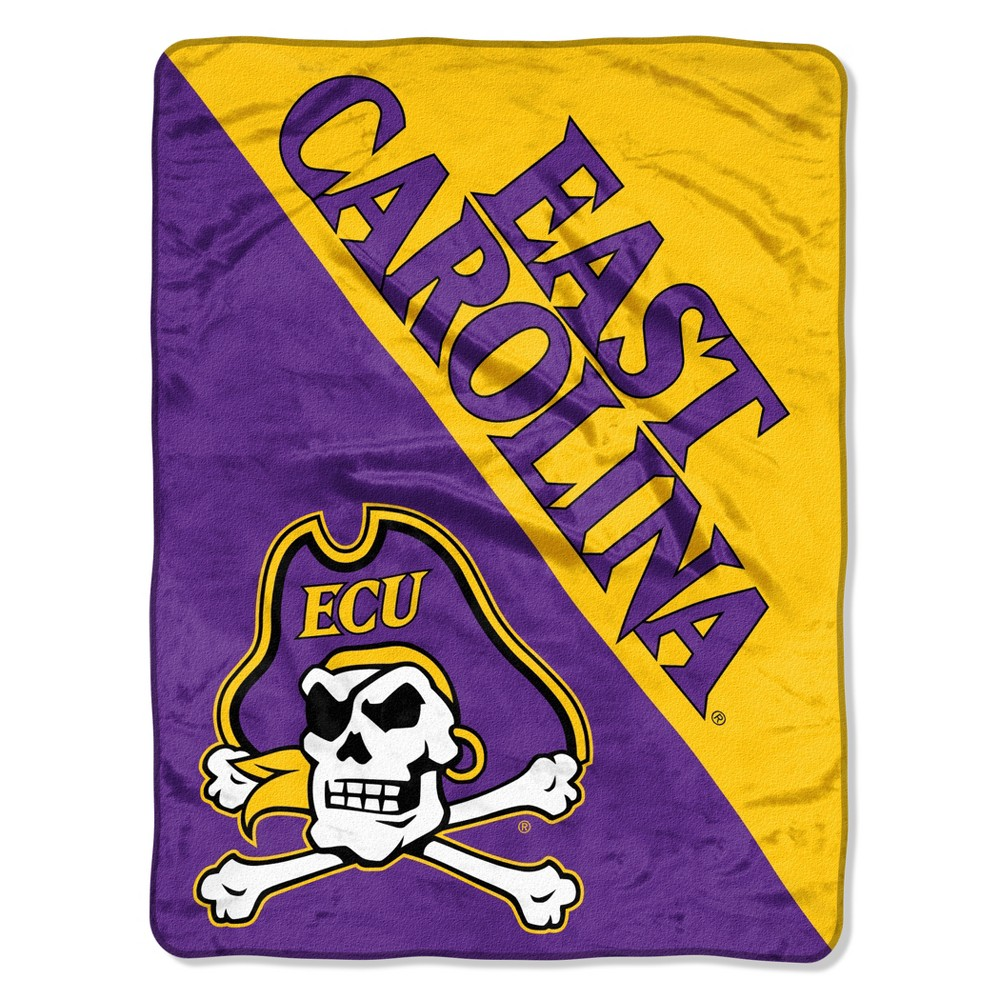 NCAA East Carolina Pirates Micro Fleece Throw Blanket
