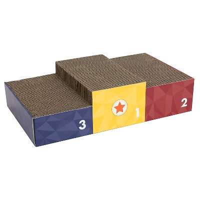 Olympic Podium Large Scratcher - Bronze, Silver & Gold - Boots & Barkley™