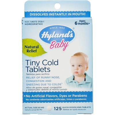 Hyland's Baby Tiny Cold Tablets - 125ct
