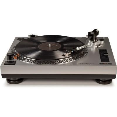 Crosley C100 Turntable - Silver