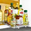 """Lynk Professional 8"""" Wide Slide Out Spice Rack Upper Cabinet Organizer - image 2 of 4"""