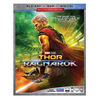Thor: Ragnarok (Blu-ray + DVD + Digital)