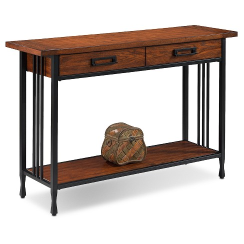 Ironcraft Sofa Table Mission Oak Leick Home