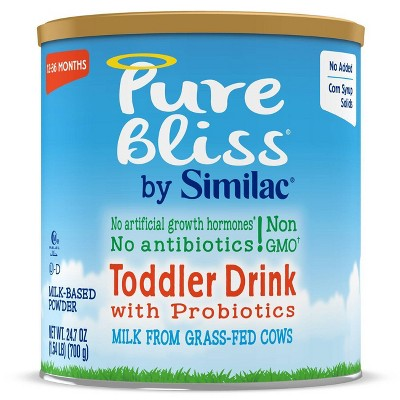 Pure Bliss by Similac Non-GMO Toddler Drink with Probiotics Powder - 24.7oz