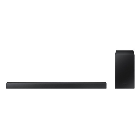 Samsung 2.1 Soundbar with 170W and Wireless Active Subwoofer - Black (HW-R40M) - image 1 of 4