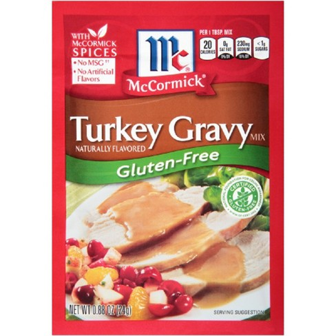 McCormick Gluten Free Turkey Gravy .88 oz - image 1 of 2