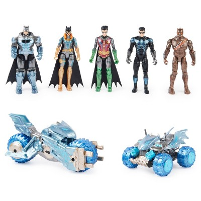 "DC Comics Gotham Defenders Metal Tech 4"" Fig Vehicle Pack"