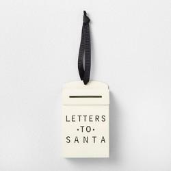 Letters to Santa Ornament Sour Cream - Hearth & Hand™ with Magnolia