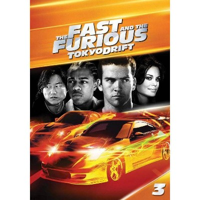 The Fast & The Furious: Tokyo Drift (DVD)(2017)