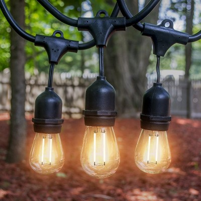 15 LED Outdoor String - White - LED Concepts