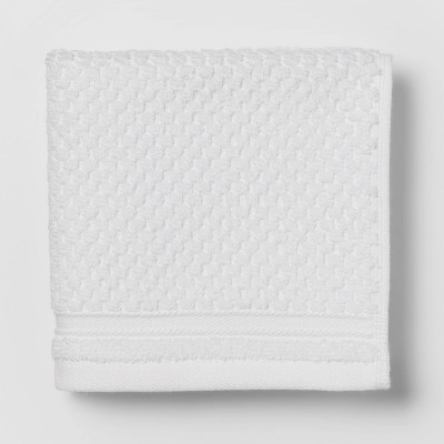 Performance Washcloth White Texture - Threshold™