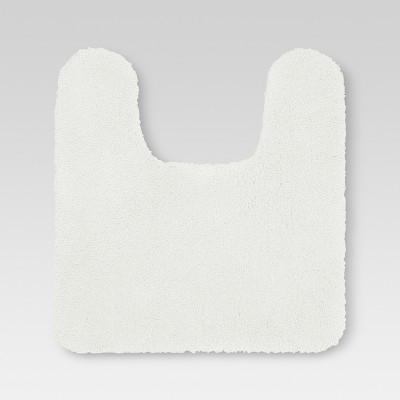 Performance Nylon Contour Bath Rug White - Threshold™