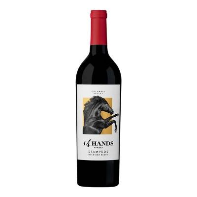 14 Hands Stampede Red Blend Wine - 750ml Bottle