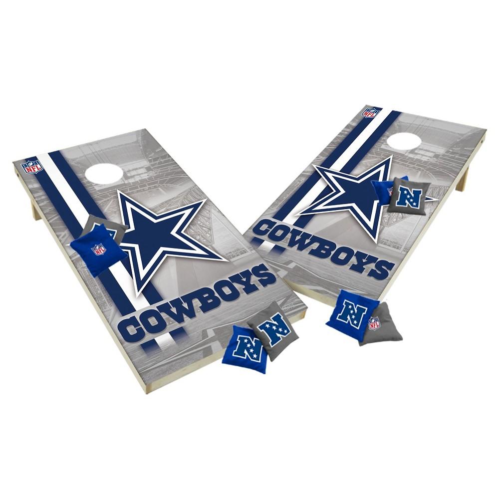 NFL Dallas Cowboys Wild Sports Tailgate Toss 2x4 Platinum Shield