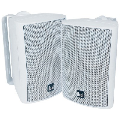"""Dual 4"""" 3-Way Indoor/Outdoor Speakers DULLU47PW"""