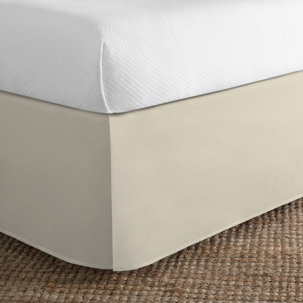 Image of Today's Home California King Cotton Rich Bed Skirt Ivory