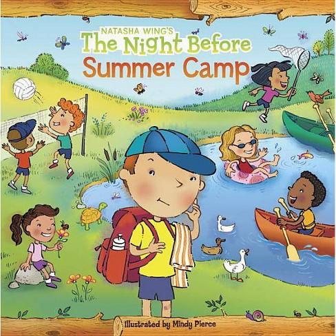 The Night Before Summer Camp - (Reading Railroad Books) by  Natasha Wing (Paperback) - image 1 of 1