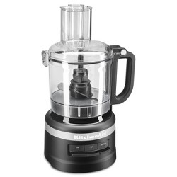 KitchenAid 7 Cup Food Processor - Black KFP0718BM