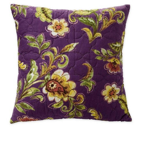 Delilah Floral Cotton Quilted Throw Pillow Target