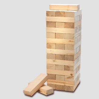 Refinery Tabletop Wood Block Stacking Game