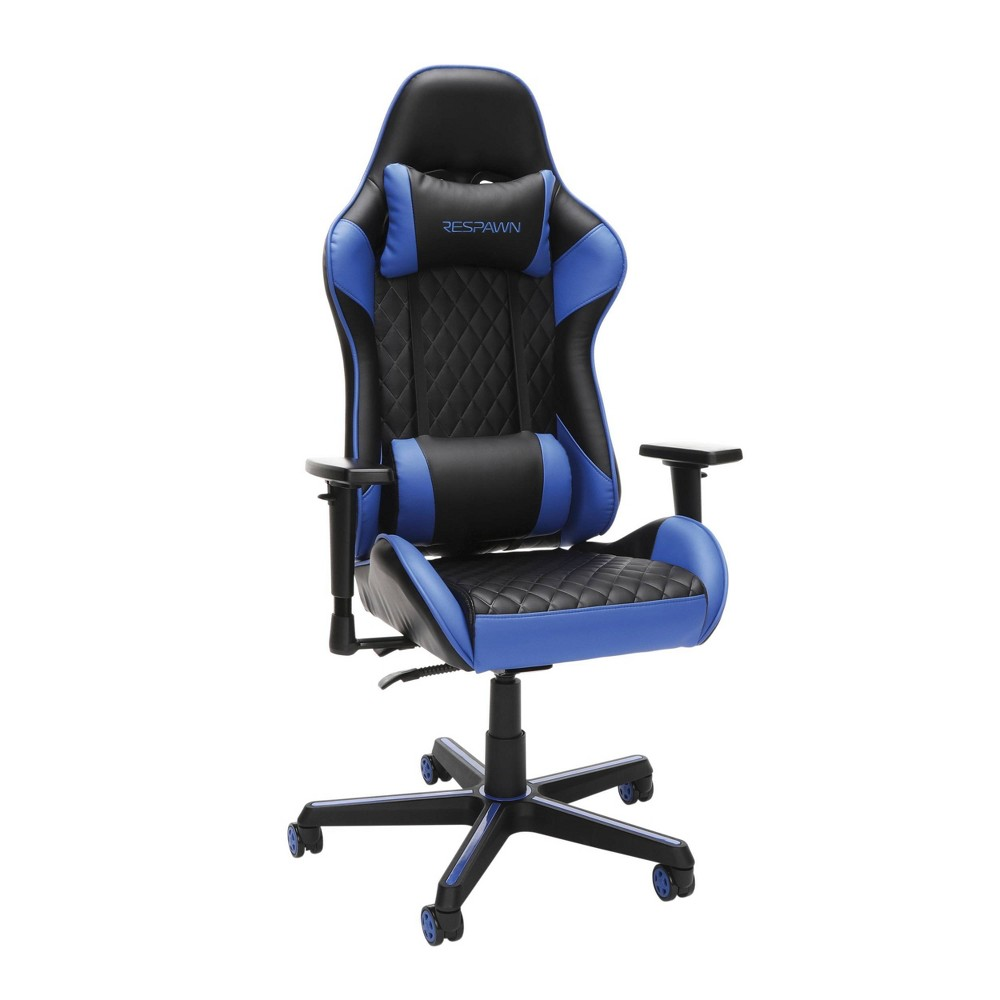 Image of 100 Racing Style Gaming Chair Blue - RESPAWN