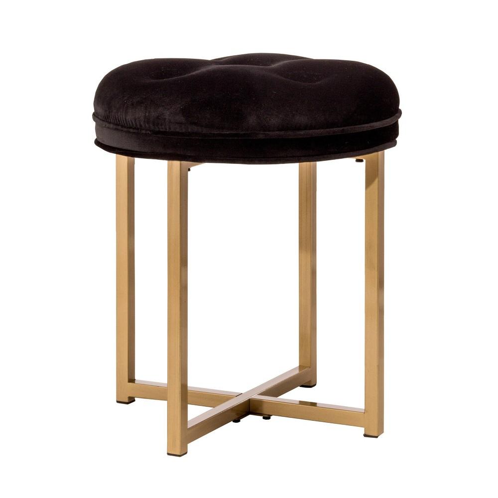 19 Maura Vanity Stool Gold - Hillsdale Furniture