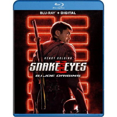 Snake Eyes: G.I. Joe Origins (Blu-ray + Digital)