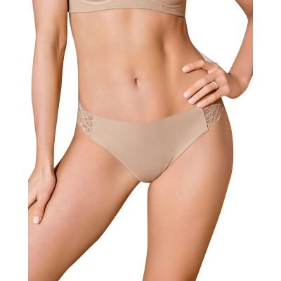 Leonisa Lace Side Seamless Thong Panty