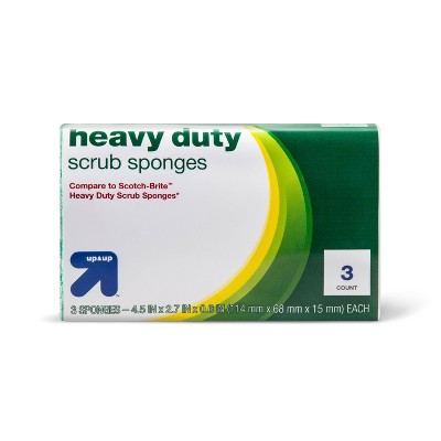 Heavy Duty Scrubbing Sponges 3ct - up & up™