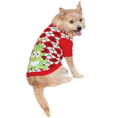 Rubies X-Mas Tree Sweater Big Dog Pet Costume
