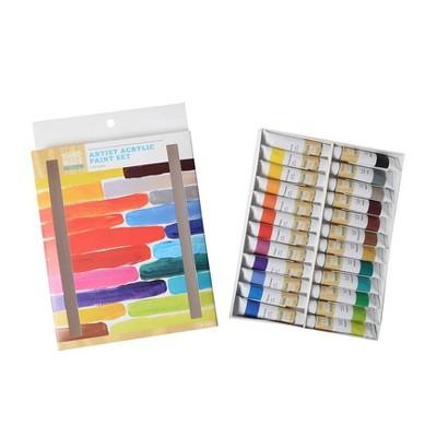 24ct Artist Acrylic Paint Set - Hand Made Modern®